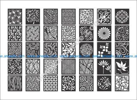 Decorative Screen Patterns