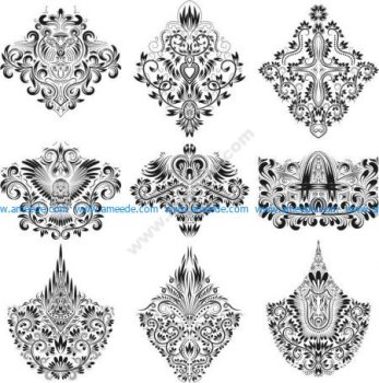 Design Ornamental Elements Free