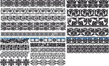Fancy Floral Borders Free