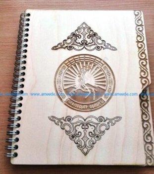 Laser Cut Notebook Cover