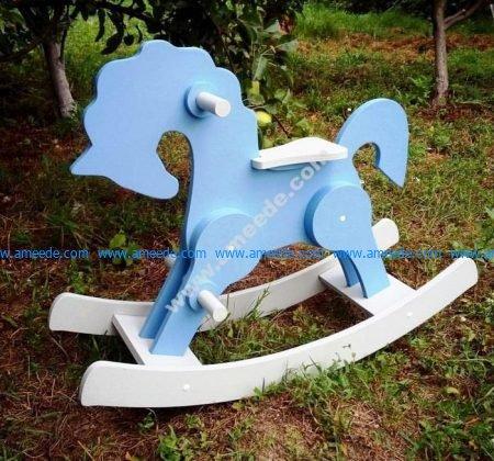 Rocking Horse Laser Cut CNC Plans