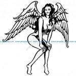 Sexing bending winged angel