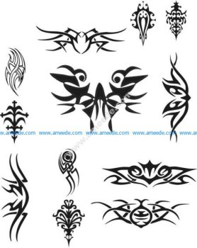 Tattoo Design Vectors file