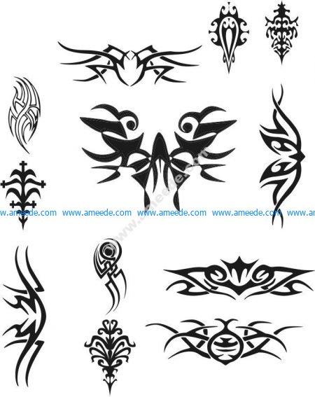 Tattoo Design Vectors file