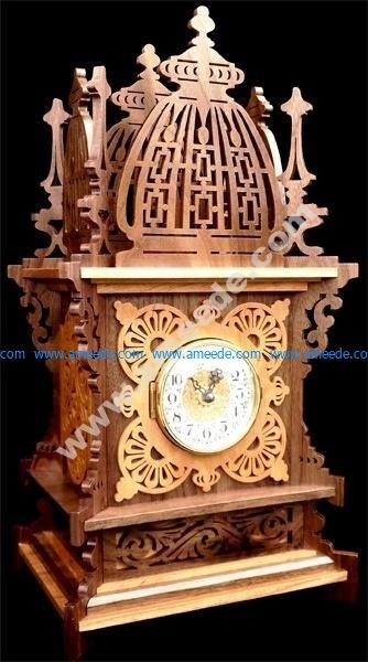 Laser Cut Decor Clock