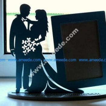 Laser Cut Frame for Young Couple CNC