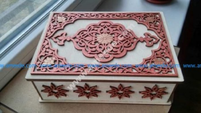 Laser Cut Wooden Box Template