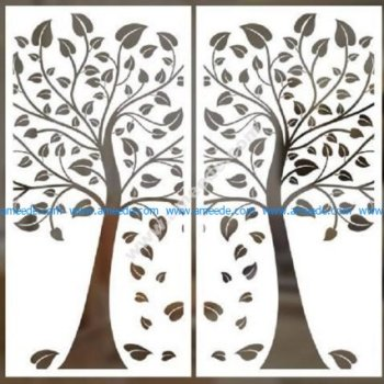 cnc cut pattern vector file 6