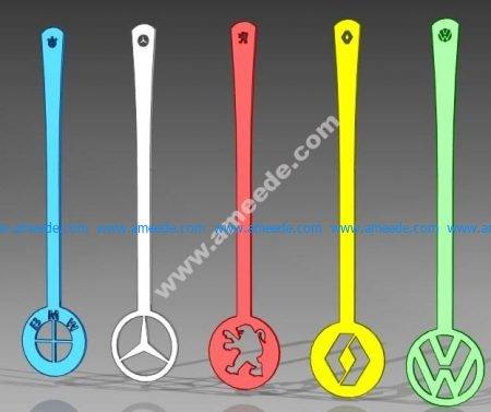 Car Logo Spoon
