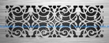 Decor Jali Grille Pattern Laser Cut