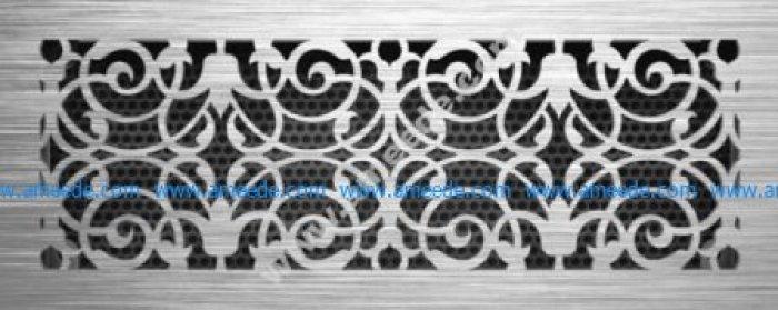 Decor Jali Grille Pattern Laser Cut