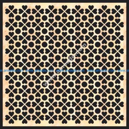 Decorative Grille Panel Board Pattern