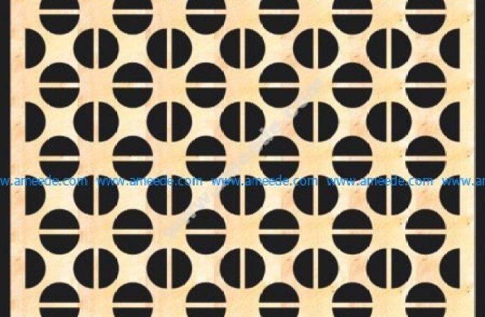 Decorative MDF Screen Pattern