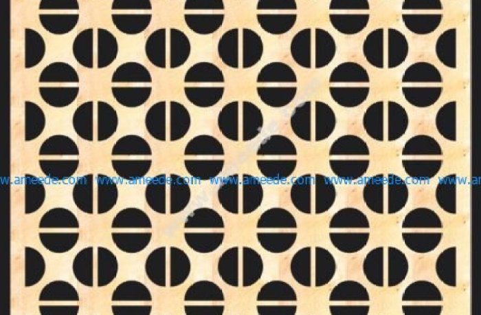Decorative MDF Screen Pattern