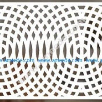 Interference circle pattern