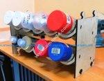 Laser Cut Cylinder Stand