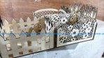 Laser Cut Decorative Storage Baskets