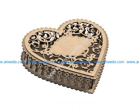 Laser Cut Jewelry Box
