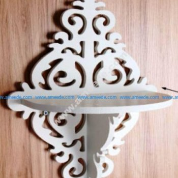 Vector Laser Cut Shelf Template