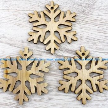 Laser Cut Snowflakes