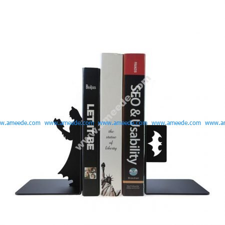 Laser Cut Superhero Batman Bookend Book Stopper