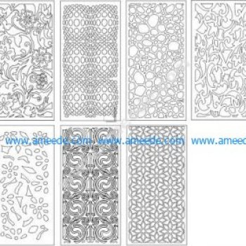 Laser cutting Architecture Pattern