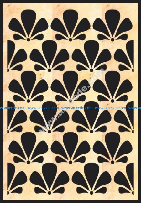 MDF Decorative Grille Panel Pattern