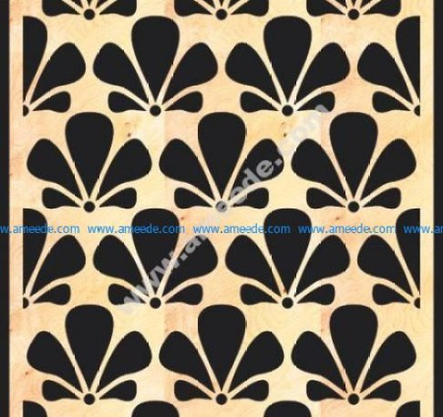 MDF Decorative Grille Panel Pattern