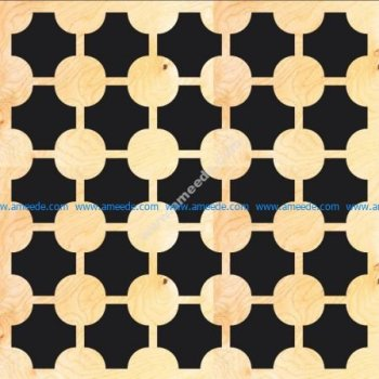 MDF Screen Pattern