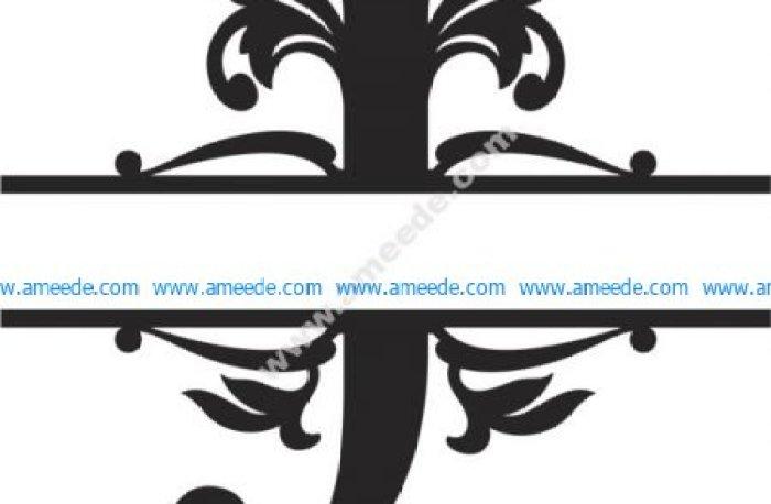 Regal Split Font J