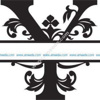 Regal Split Font Y