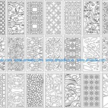 Set Pattern laser cut design