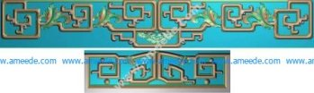Ancient Chinese pattern