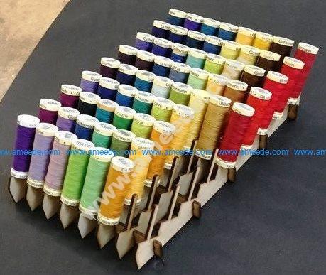 Bobbin Rack Sewing Thread Organizer