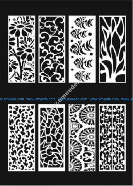 Decorative Screens Panels