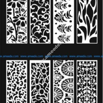 Decorative Screens Panels