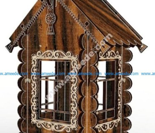 Decorative Tea House 4mm