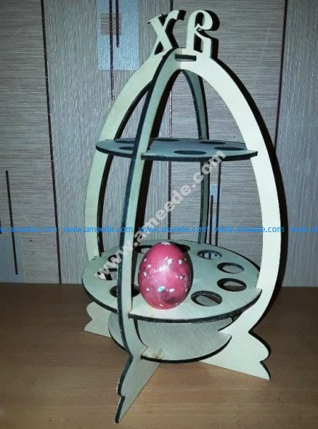 Easter Eggs Stand 4mm