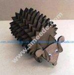Hedgehog Coasters With Holder