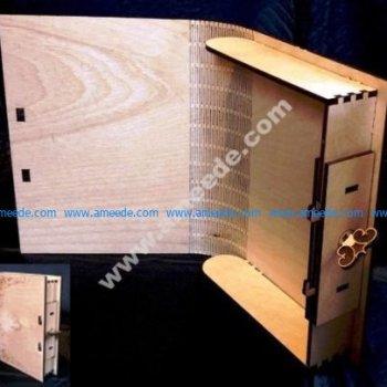 Laser Cut Book Box