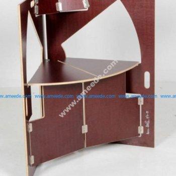 Laser Cut Werner Schmidt Folding Triangle Chair