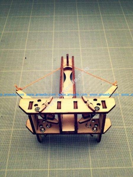 Model of laser cutting model of magic god
