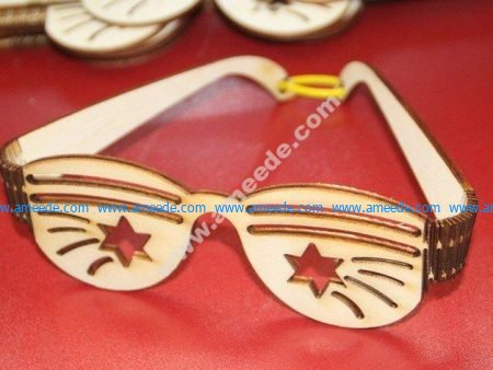 Party Sunglasses Plywood