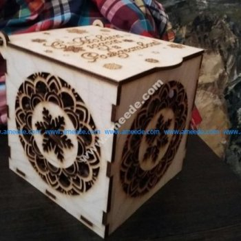 Plywood Gift Box Laser Cut