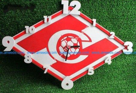 Spartak Clock