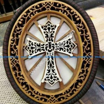 Vector Wooden Cross