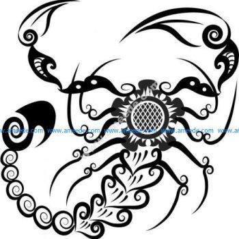 Vector pattern scorpion