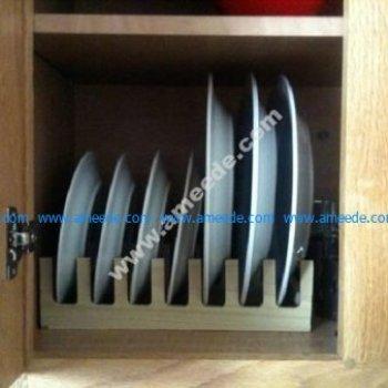 Wooden Plates Holder