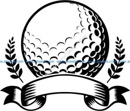 symbol of golf ball