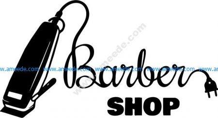 symbol of hair salon Barber